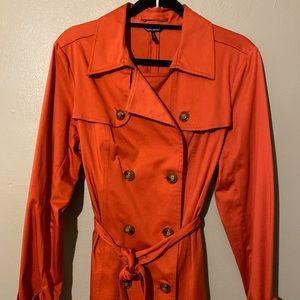 Daisy Fuentes trench coat